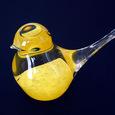 ガラスの小鳥のオブジェ